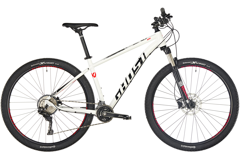 Ghost Kato 7.9 AL 29 MTB Hardtail hvid | Find cykeltilbehør på nettet | Bikester.dk
